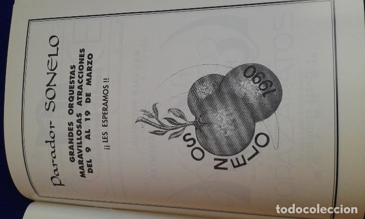 Carteles de Turismo: LLIBRET FALLA CONVENTO JERUSALEN -MATEMATICO MARZAL 1990 - Foto 8 - 162107158