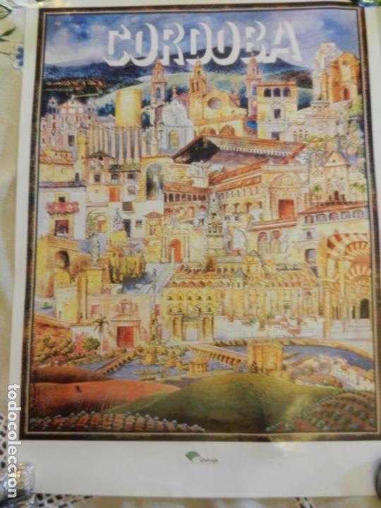 CARTEL DE CÓRDOBA TURISMO - EDITADO POR UNICAJA - MEDIDAS 46X33 CM. (Coleccionismo - Carteles Gran Formato - Carteles Turismo)