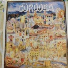 Carteles de Turismo: CARTEL DE CÓRDOBA TURISMO - EDITADO POR UNICAJA - MEDIDAS 46X33 CM. . Lote 164959510