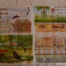Carteles de Turismo: CARTEL ARBOLES SINGULARES DE SEVILLA II - AYUNTAMIENTO DE SEVILLA 1997. MEDIDAS 70X50 CM.. Lote 165234098