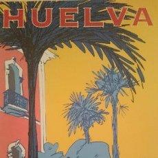 Carteles de Turismo: 7 CARTELES TURISTICOS HUELVA OSCAR MARINE & CHRISTIAN BOYER 1995. Lote 195291677