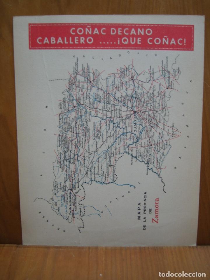 Carteles de Turismo: Antiguo Cárter publicitario tamaño A4 en cartulina. Zamora - Foto 2 - 168836596