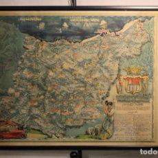 Carteles de Turismo: CARTA DE LA MUY NOBLE Y MUY LEAL PROVINCIA DE GUIPÚZCOA. Lote 170216892