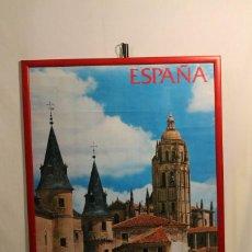 Carteles de Turismo: CARTEL DE SEGOVIA, MINISTERIO DE INFORMACIÓN Y TURISMO 1975. Lote 171700648
