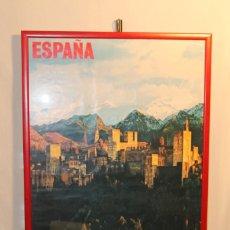 Carteles de Turismo: CARTEL DE GRANADA, MINISTERIO DE INFORMACIÓN Y TURISMO , 1974. Lote 171700958