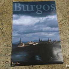 Carteles de Turismo: CARTEL LERMA, BURGOS, TURISMO, 66 X 46 CM. Lote 172607068