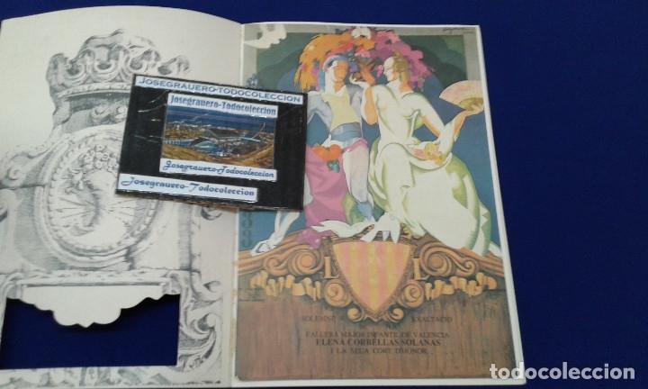 Carteles de Turismo: SOLEMNE EXALTACION FALLERA MAYOR INFANTIL DE VALENCIA 1991 - Foto 2 - 174193092