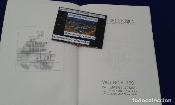 Carteles de Turismo: SOLEMNE EXALTACION FALLERA MAYOR INFANTIL DE VALENCIA 1991 - Foto 3 - 174193092