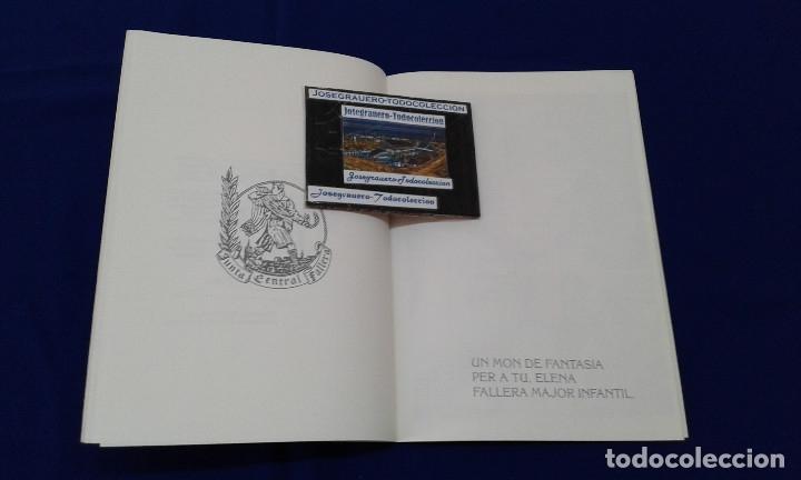 Carteles de Turismo: SOLEMNE EXALTACION FALLERA MAYOR INFANTIL DE VALENCIA 1991 - Foto 5 - 174193092