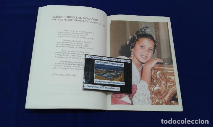Carteles de Turismo: SOLEMNE EXALTACION FALLERA MAYOR INFANTIL DE VALENCIA 1991 - Foto 6 - 174193092