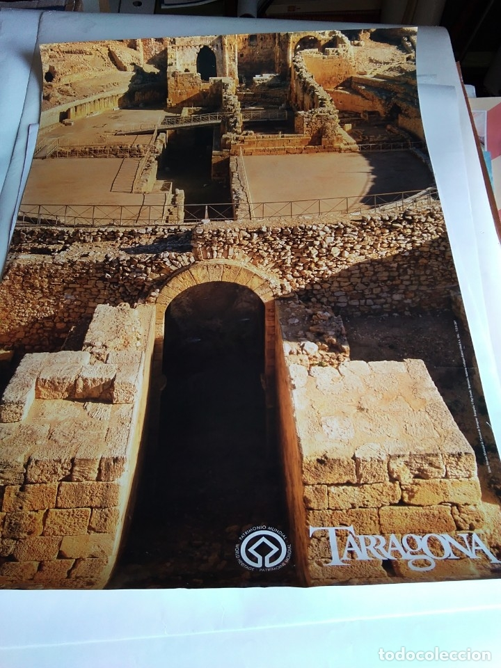PÓSTER TURÍSTICO 'TARRAGONA' (Coleccionismo - Carteles Gran Formato - Carteles Turismo)