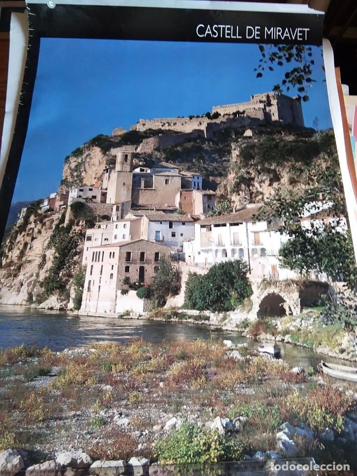 PÓSTER TURÍSTICO 'CASTILLO DE MIRAVET' (Coleccionismo - Carteles Gran Formato - Carteles Turismo)