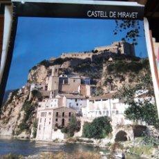 Carteles de Turismo: PÓSTER TURÍSTICO 'CASTILLO DE MIRAVET'. Lote 174498168