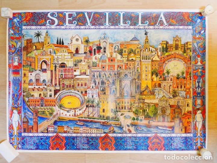 CARTEL DE SEVILLA (Coleccionismo - Carteles Gran Formato - Carteles Turismo)