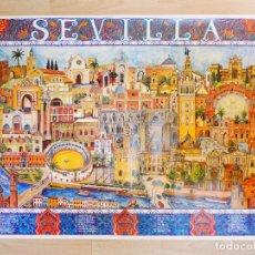 Affissi di Turismo: CARTEL DE SEVILLA . Lote 175789918