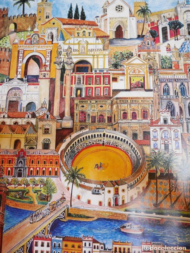 Carteles de Turismo: Cartel de Sevilla - Foto 3 - 175789918