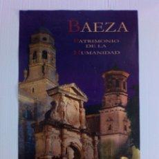 Carteles de Turismo: CARTEL BAEZA PATRIMONIO DE LA HUMANIDAD. Lote 176646307