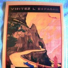 Carteles de Turismo: CARTEL POSTER ASTURIAS ( ASTURIES ) - PATRONATO NACIONAL DE TURISMO DE LA REPUBLICA ESPAÑOLA.. Lote 221925895