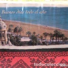Carteles de Turismo: CARTEL BUENOS DIAS TODO EL AÑO DE LA PLAYA DEL POSTIGUET,. Lote 177565882