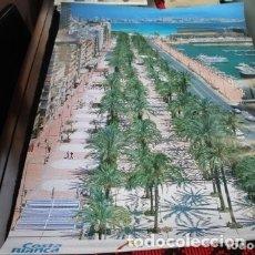Carteles de Turismo: CARTEL PASEO DE ALICANTE COSTA BLANCA. Lote 177566367
