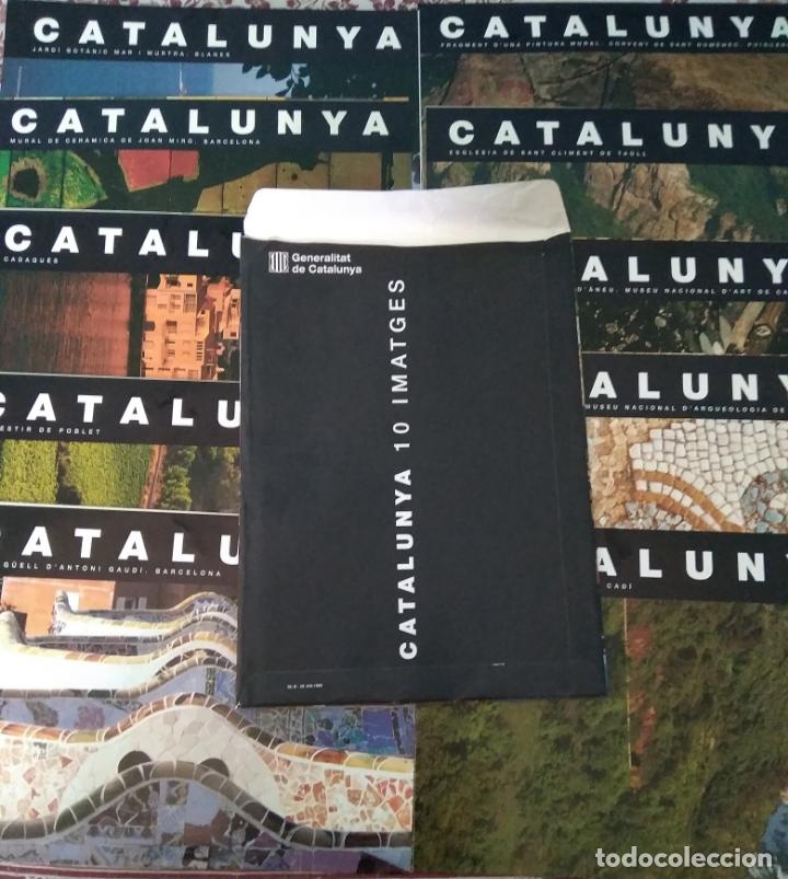 Carteles de Turismo: CATALUNYA 10 IMATGES - EDITA GENERALITAT DE CATALUNYA - 1999 - Foto 2 - 177868977