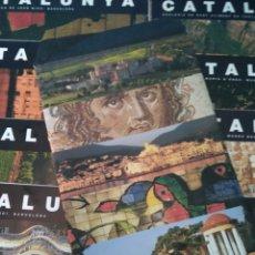 Carteles de Turismo: CATALUNYA 10 IMATGES - EDITA GENERALITAT DE CATALUNYA - 1999. Lote 177868977
