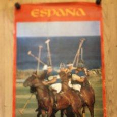 Carteles de Turismo: CARTEL POLO COSTA DEL SOL- MALAGA - SECRETARIA DE ESTADO DE TURISMO - MEDIDAS 62X100CM. Lote 177878179