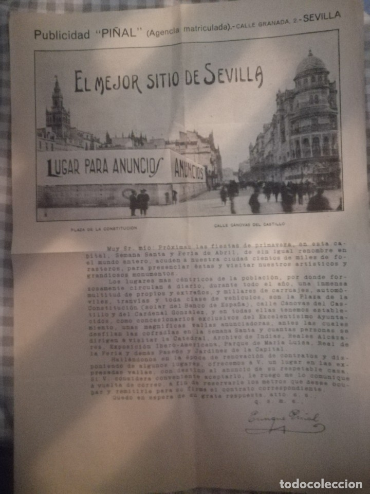 PUBLICIDAD DE SEVILLA (Coleccionismo - Carteles Gran Formato - Carteles Turismo)