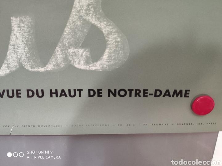 Carteles de Turismo: Antiguo póster de Notre-Dame. - Foto 5 - 179943041