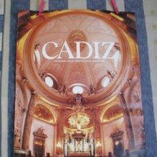Carteles de Turismo: CARTEL ORATORIO DE LA SANTA CUEVA DE CÁDIZ - DELEGACIÓN MUNICIPAL TURISMO. Lote 181980667