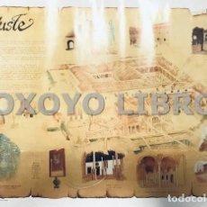 Carteles de Turismo: PERIANES, JOSÉ MARÍA. CARTEL. MONASTERIO DE YUSTE. Lote 182818235