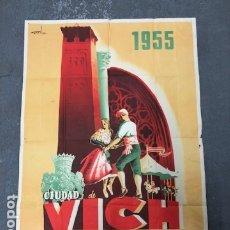 Carteles de Turismo: POSTER - CARTEL TURISMO CATALUNYA- VICH. Lote 183777386