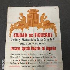 Carteles de Turismo: POSTER - CARTEL TURISMO CATALUNYA- FIGUERAS. Lote 183780253