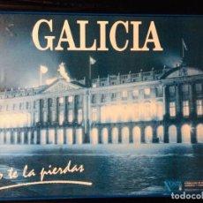 Carteles de Turismo: CUADRO - PÓSTER PAZO DE RAXOI. PLAZA OBRADOIRO (SANTIAGO). GALICIA, NO TE LA PIERDAS.. Lote 188622802