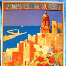 Carteles de Turismo: CARTEL POSTER RETRO - MALAGA, ANDALUCIA - CLIMA DELICIOSO EN TODO TIEMPO - PNT REPUBLICA ESPAÑOLA. Lote 192188168