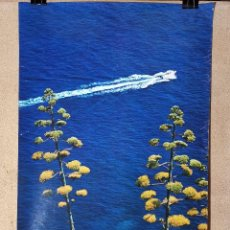 Carteles de Turismo: CARTEL ORIGINAL SECRETARIA ESTADO TURISMO - LLAFRANCH GERONA 1978-------------100 X 70 APRX.. Lote 193909968