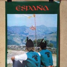 Carteles de Turismo: CARTEL ORIGINAL SECRETARIA ESTADO TURISMO - ASTURIAS 1979-------------100 X 70 APRX.. Lote 193910335