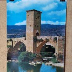 Carteles de Turismo: CARTEL ORIGINAL SECRETARIA ESTADO TURISMO - FRIAS BURGOS 1978------100 X 70 APRX.. Lote 193922900