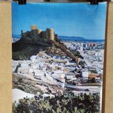 Carteles de Turismo: CARTEL ORIGINAL SECRETARIA ESTADO TURISMO - ALMERIA,-- 1976-----100 X 70 APRX.. Lote 193923743