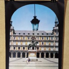 Carteles de Turismo: CARTEL ORIGINAL SECRETARIA ESTADO TURISMO - PLAZA MAYOR MADRID -- 1980-----100 X 70 APRX.. Lote 193936170