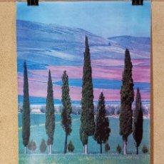 Carteles de Turismo: CARTEL ORIGINAL SECRETARIA ESTADO TURISMO -SANTA CRUZ MUDELA--- CIUDAD REAL 1979------100 X 70 APRX.. Lote 193968147