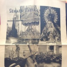 Carteles de Turismo: ANTIGUO CARTEL SEMANA SANTA SEVILLA 1948 -FOURNIER-VITORIA. Lote 196079083