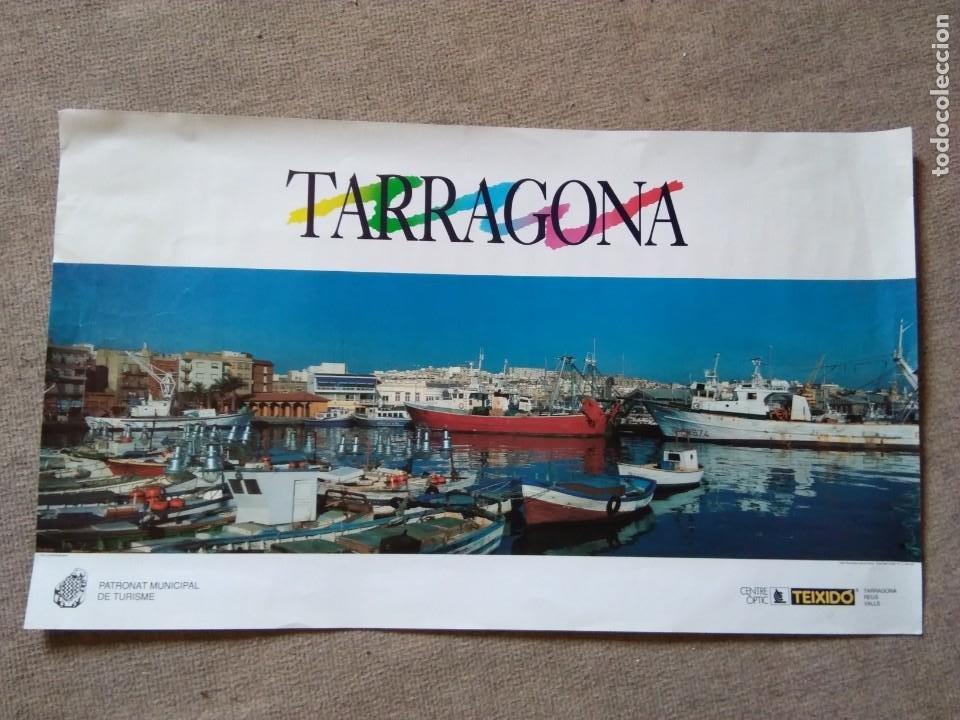 PÒSTER IMAGEN DE TARRAGONA (Coleccionismo - Carteles Gran Formato - Carteles Turismo)