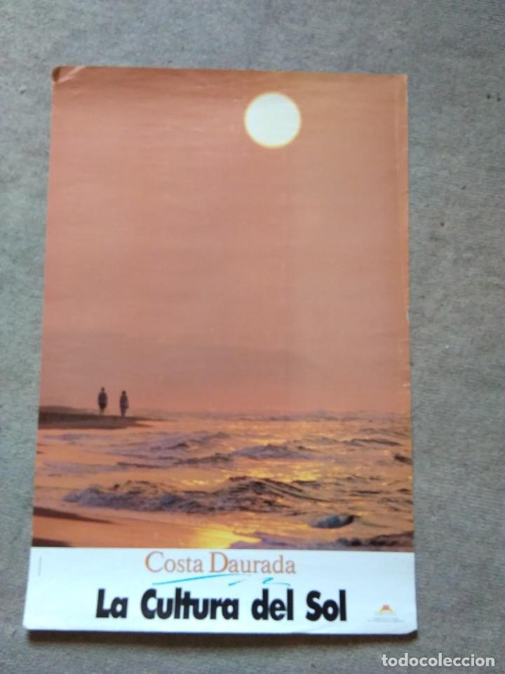 PÒSTER COSTA DAURADA. LA CULTURA DEL SOL (Coleccionismo - Carteles Gran Formato - Carteles Turismo)
