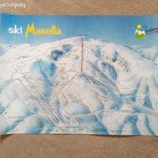 Carteles de Turismo: PÒSTER SKY MASELLA. Lote 199351687