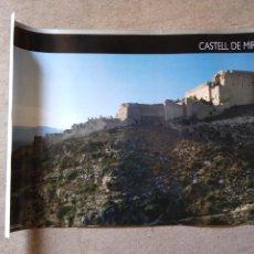 Carteles de Turismo: PÒSTER CASTILLO DE MIRAVET. Lote 199351706