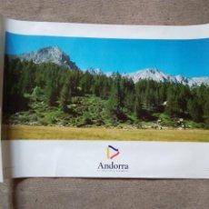 Carteles de Turismo: PÒSTER ANDORRA. EL PAÍS DEL PIRINEO.. Lote 199352423