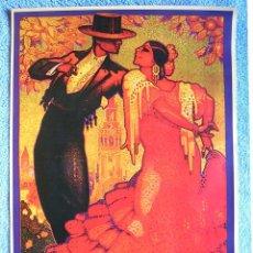 Carteles de Turismo: CARTEL POSTER RETRO - SEVILLA - SEMANA SANTA - FERIA ABRIL PRIMAVERA - AÑO 1928.. Lote 199352838