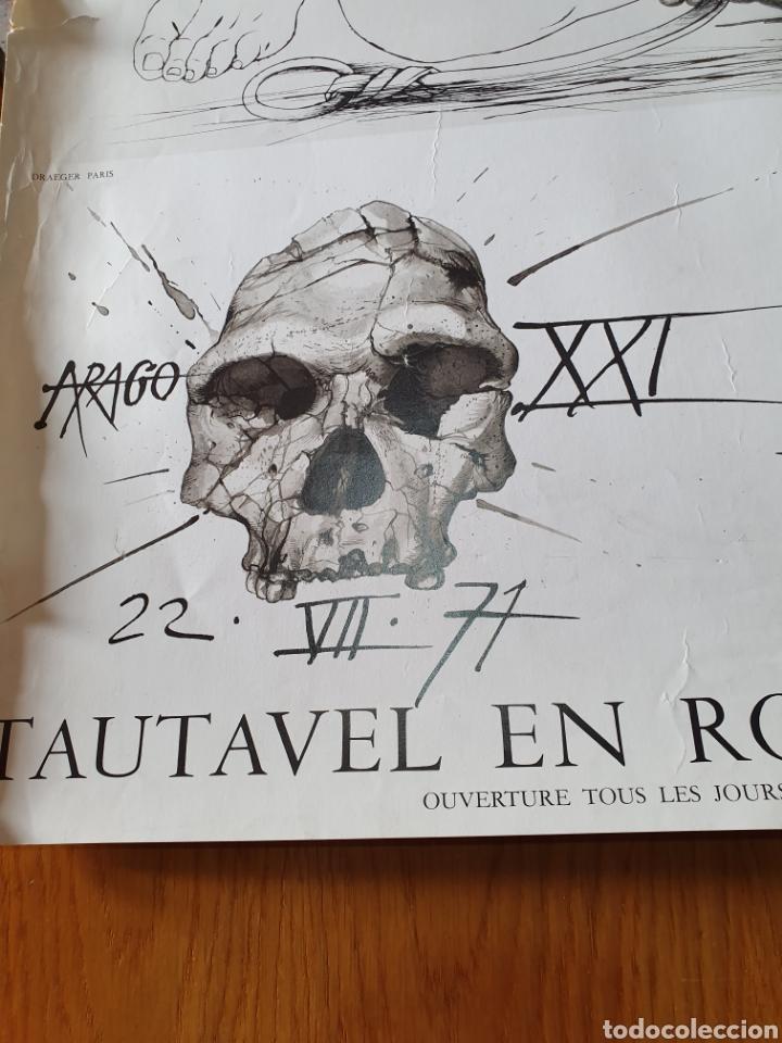 Carteles de Turismo: Musée de préhistoire, tautavel en roussillon, 22 / 7 / 71, 86 cm x 74, ver fotos. - Foto 2 - 200013813