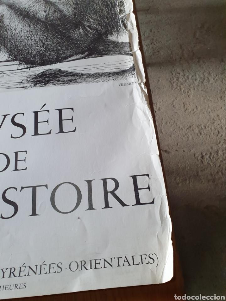 Carteles de Turismo: Musée de préhistoire, tautavel en roussillon, 22 / 7 / 71, 86 cm x 74, ver fotos. - Foto 5 - 200013813